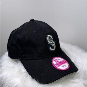 NWTs NEW ERA SEATTLE MARINERS Black Baseball Hat